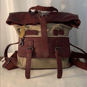 Sherpani Amelia Backpack Handbag Brown/Tan